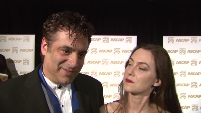 vidéos et rushes de on his award for his work on survivor, on his creative music process at the ascap film and tv music awards at the kodak theatre in hollywood,... - ascap