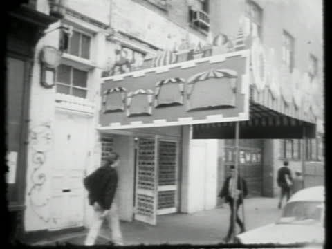 on january 01, 1964 in new york city. - greenwich village stock videos & royalty-free footage