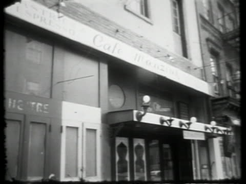 wpix on january 01 1964 in new york city - greenwich village stock videos & royalty-free footage