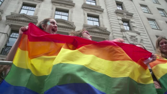 on july 06, 2019 in london, greater london. - pride stock videos & royalty-free footage