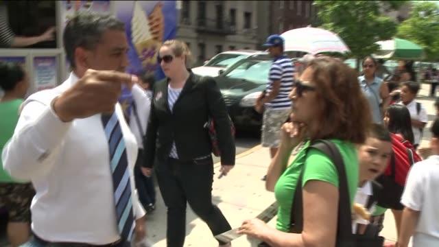 on june 23, 2014 in new york city. - darstellen stock-videos und b-roll-filmmaterial