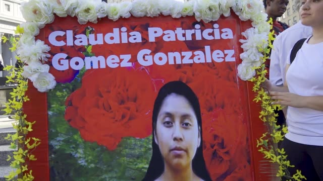 on may 23rd 2018 twenty year old guatemalan woman claudia patricia gómez gonzález was shot and killed by customs and border protection in texas... - guatemala stock videos & royalty-free footage