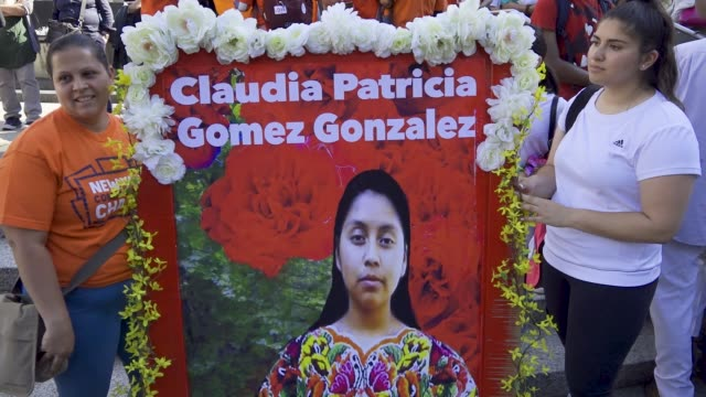 On May 23rd 2018 twenty year old Guatemalan woman Claudia Patricia Gómez González was shot and killed by Customs and Border Protection in Texas...