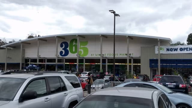 on may 25th 2016 whole foods market debuted its new discount grocery chain in los feliz california a northern suburb of los angeles - whole foods market stock videos and b-roll footage