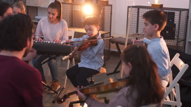 on music school class - performance group stock videos and b-roll footage