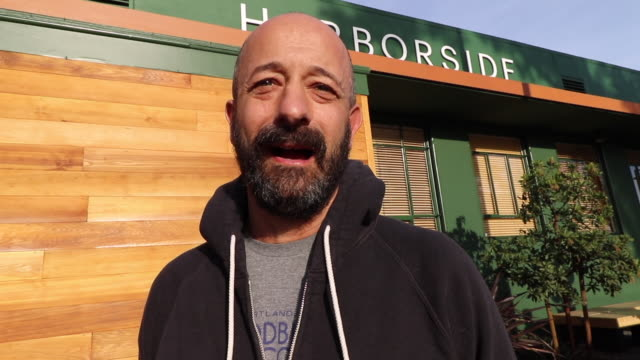 on new year's day david hyman waits in line at harborside health center in oakland, california, to be one of the first to purchase legal recreational... - stephenie hollyman stock videos & royalty-free footage