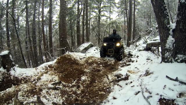 ATV on Rugged Trail