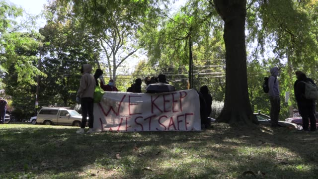 on september 19 hundreds of demonstrators gathered at clark park in philadelphia to protest against a rally planned by the far-right proud boys.... - only boys stock videos & royalty-free footage