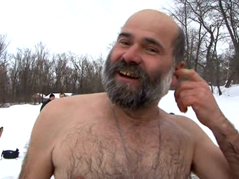 on the 19th, orthodox christianity celebrates epiphany. as every year, hundreds of pilgrims across ukraine will be bathing in rivers and glacial... - religious symbol stock videos & royalty-free footage