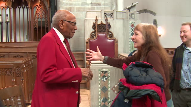 WGN On the anniversary of Martin Luther King Jr's death civil rights activist Timuel Black spoke at Rockefeller Chapel on the campus of the...