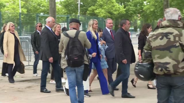 FRA: Laeticia Hallyday attends a tribute to Johnny Hallyday in France