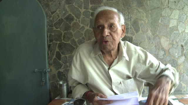 on the eve of his 90th birthday self taught sculptor nek chand recalls spending years secretly building a fantasy rock garden of waterfalls mosaics... - self love stock videos & royalty-free footage