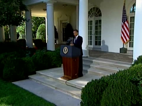 on the eve of the first anniversary of barack obamaõs election afptv looks at how the us president's image has weathered the beginning of his... - 2009 video stock e b–roll
