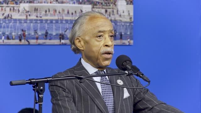 NY: Al Sharpton Hosts Candidates For New York City Mayor In Harlem