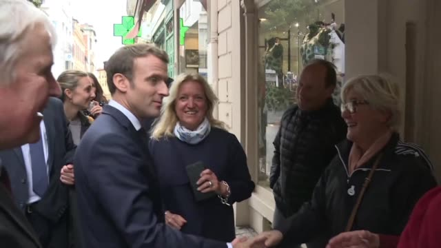 On the fringes of a trip to Biarritz to prepare for the G7 in August French president Emmanuel Macron claims the political outcome of Marine Le Pen's...