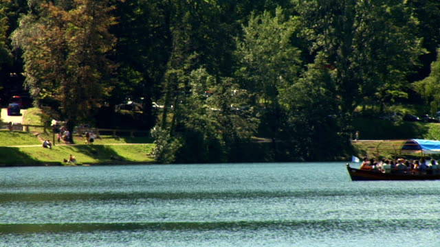 hd: on the lake of bled - lake bled stock videos & royalty-free footage