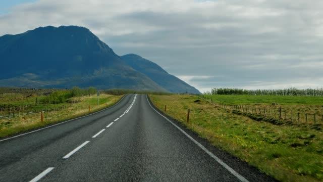 On the road. Icelandic trip