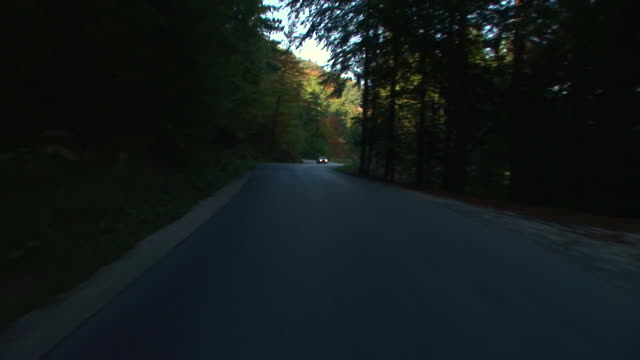 hd: on the road - moving past stock videos & royalty-free footage