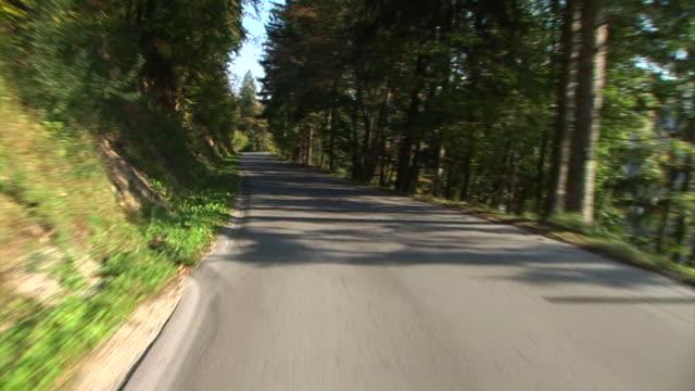 hd :旅先でも - 乗物後部から見た視点点の映像素材/bロール