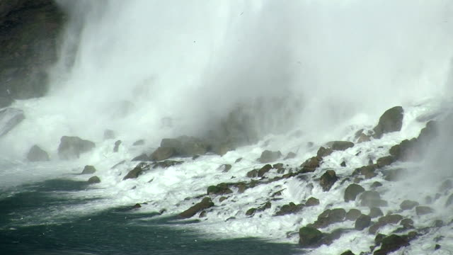 on the rocks - niagara falls stock videos & royalty-free footage