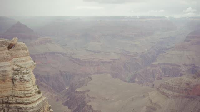 En el borde sur del gran cañón