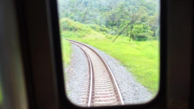 vidéos et rushes de sur le chemin du train en forêt - a l'abandon