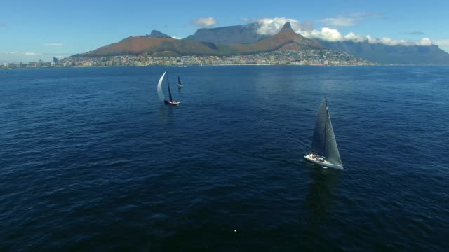 On the waters of Table Bay