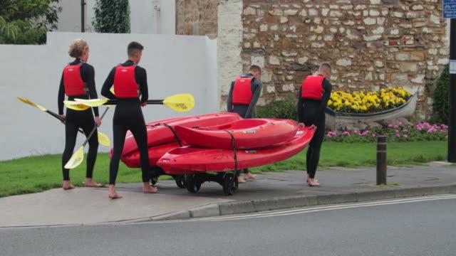 On Their way to Kayak