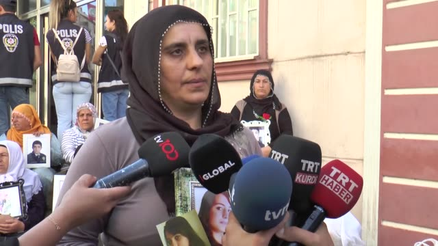 on thursday another family joined a sitin protest in southeastern turkey outside the provincial office of a turkish opposition party long accused by... - 16 17 years stock videos & royalty-free footage