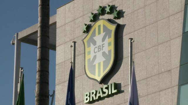 on thursday the brazilian football confederation will hold a general assembly at its rio headquarters where marco polo del nero who replaced marin in... - marin stock videos & royalty-free footage