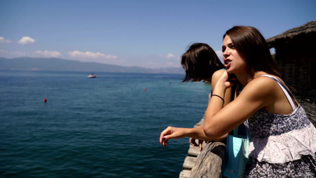 on travel with younger sister - cinemanis videography stock videos & royalty-free footage