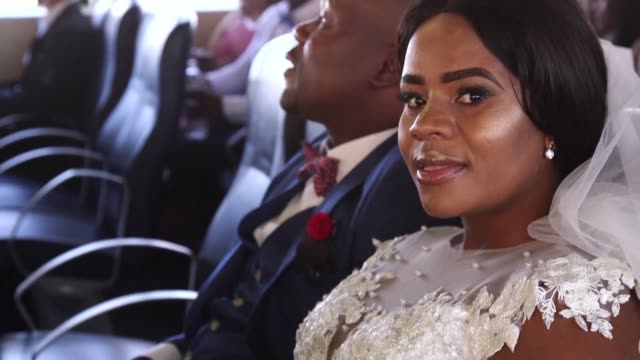On Valentine's Day couples tie the knot on Robben Island in South Africa to pay tribute to Nelson Mandela who spent time in prison on the island off...