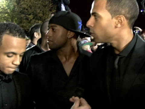 on what their nomination means to them at the 2011 mobo awards at glasgow secc on october 05, 2011 in glasgow, scotland anamorphic video file - anamorphic stock videos & royalty-free footage