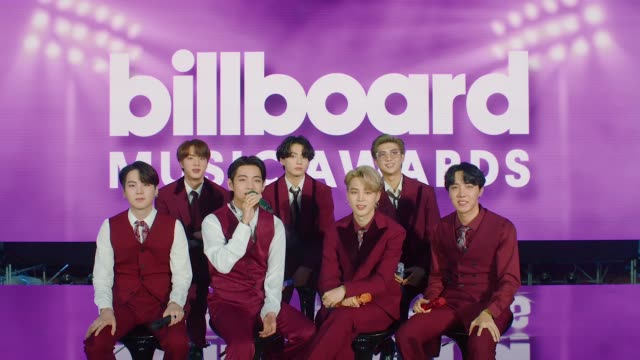 on what they love most about their fans prior to appearing at the billboard music awards which will take place at the dolby theatre on october 12,... - billboard点の映像素材/bロール