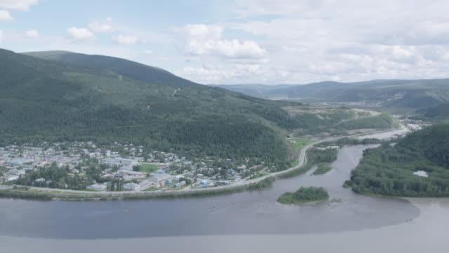 PAN on Yukon River to Dawson City