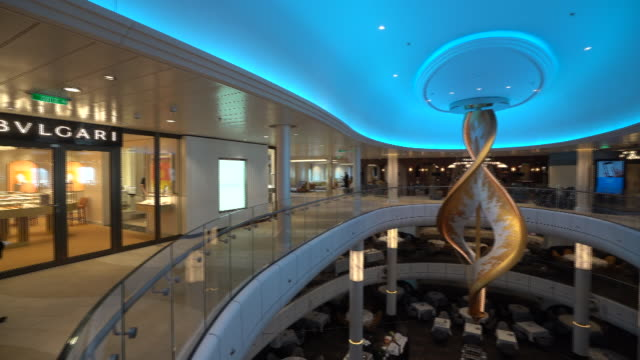 onboard the spectrum of the seas cruise liner in singapore on tuesday may 21 2019 - luxury stock videos & royalty-free footage