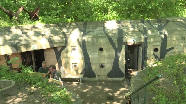 once buried under heaps of sand and rubble bunkers built during the nazi occupation of the netherlands are getting a new lease of life as major... - lease agreement stock videos and b-roll footage