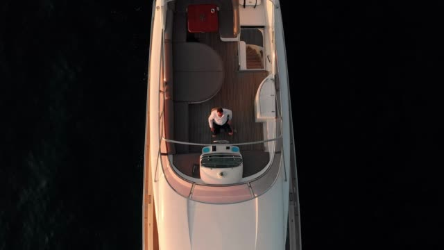 once you know the life of luxury, you don't want to go back - yacht stock videos & royalty-free footage