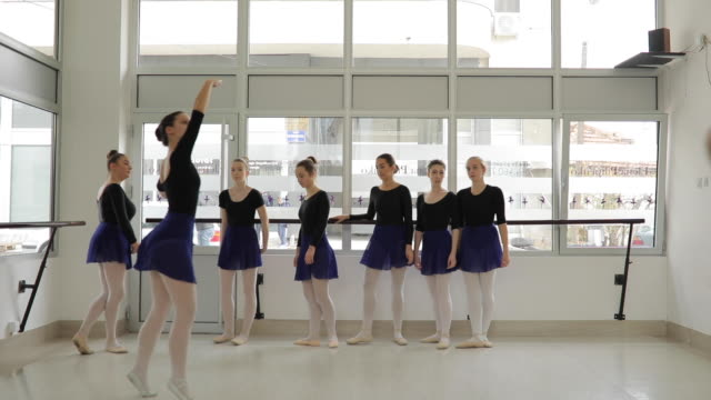 one after the other - ballet studio stock videos & royalty-free footage