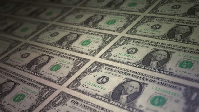one american dollar bill - dollar symbol stock videos and b-roll footage