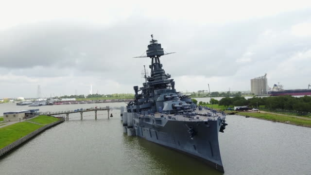 one battleship texas state historic site. - texas stock videos & royalty-free footage