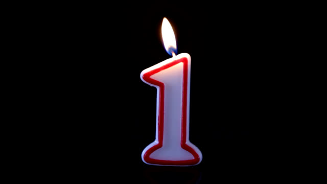 one candle - single object stock videos & royalty-free footage