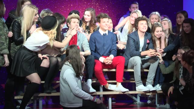 one direction wax figures unveiled at madame tussauds on april 18, 2013 in london, england - madame tussauds stock videos & royalty-free footage