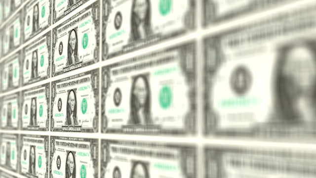 one dollar bill - american one dollar bill stock videos & royalty-free footage