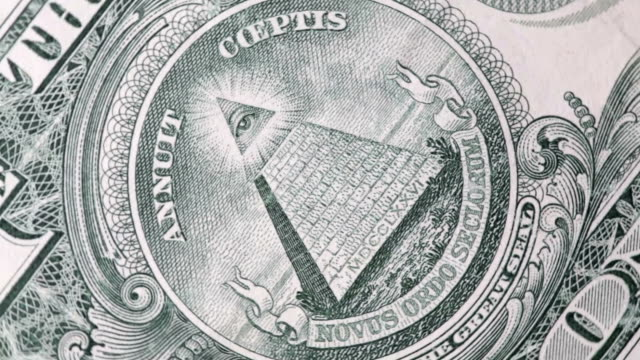 one dollar bill - conspiracy stock videos & royalty-free footage