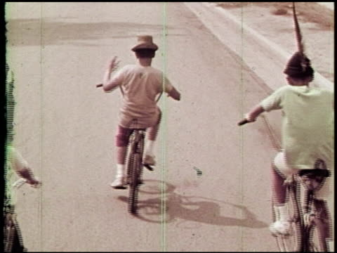 one got fat: bicycle safety - 11 of 14 - see other clips from this shoot 2238 stock videos & royalty-free footage