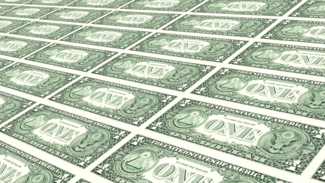 one hundred dollar bill - american one dollar bill stock videos & royalty-free footage