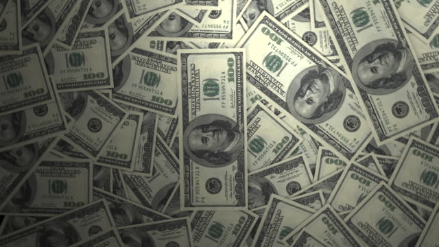 One Hundred Dollar Bills. 4k