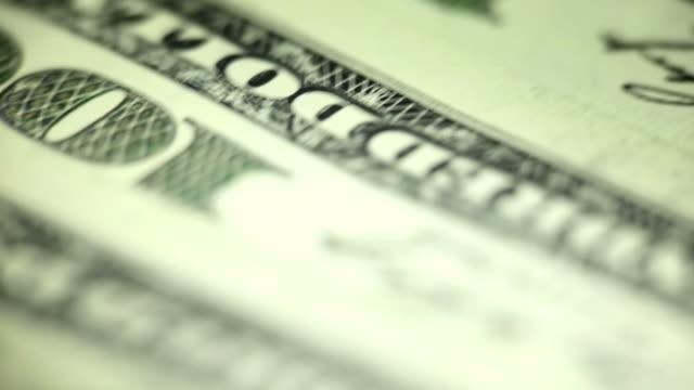 Sfondo di banconote da cento dollari