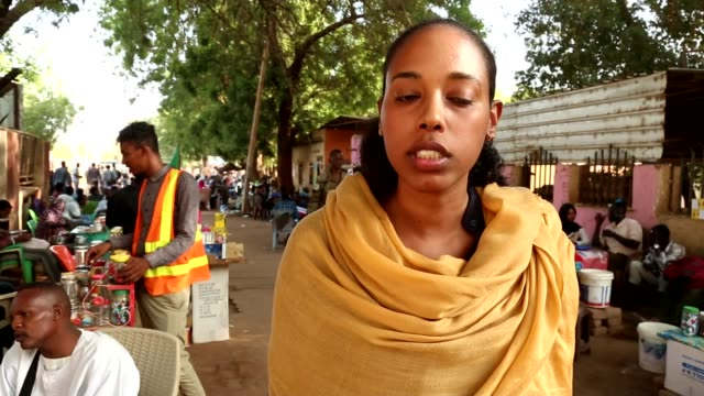 One killed and several injured after security forces open fire on sitin protest SUDAN Khartoum EXT Reporter to camera Hajooj Kuja interview SOT The...